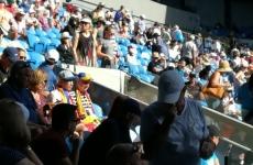 români tribune Australian Open