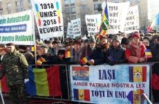 manifestația Iași 24 ianuarie 2018