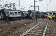 tren deraiat Italia