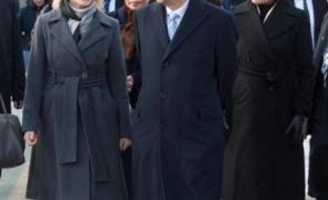 Shinzo Abe Gabriela Firea