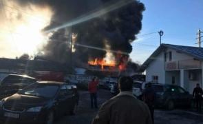 incendiu Câmpina