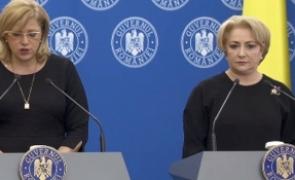 Viorica Dăncilă Corina Crețu