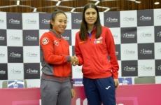 Sorana Cirstea Carol Zhao Fed Cup