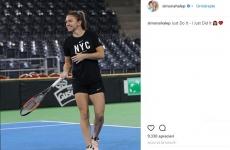 Simona Halep Nike instagram