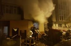 incendiu Sincai Bucuresti