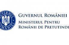 logo Ministerul pentru Românii de Pretutindeni