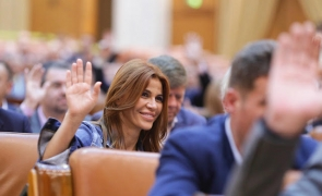 Andreea Cosma parlament