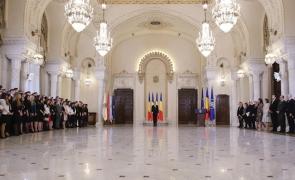 Klaus Iohannis absolventi Institutul Naţional al Magistraturii