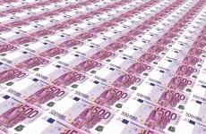euro hartii 500 euro tiparnita