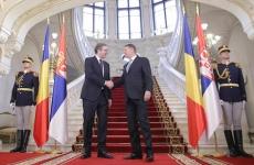 Klaus Iohannis si Aleksandar Vucic
