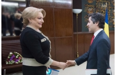 Primirea ambasadorului Turciei la București, Osman Koray Ertaş, de către premierul Viorica Dăncilă