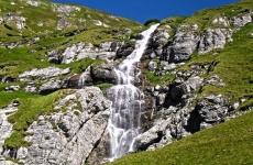 cascada, natură, apă, pădure, munte