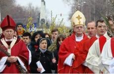 procesiune catolici Florii