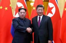 Kim Jong Un Xi Jumping