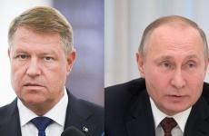Vladimir Putin Klaus Iohannis