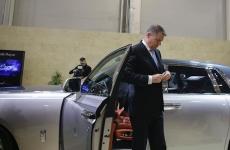 Inqaum Klaus Iohannis masina