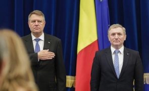 Klaus Iohannis Augustin Lazar la bilantul Ministerului Public