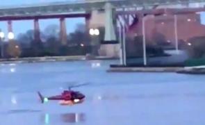 elicopter prăbușit New York