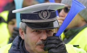 Inquam proteste polițiști