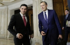 Florian Coldea si Claudiu Manda la comisia SRI
