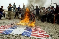 Irak steaguri SUA arse