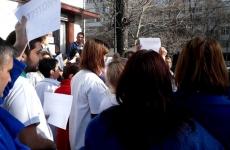 proteste angajați sănătate