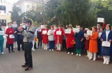 proteste spital Sibiu