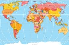 hartă mapamond lume