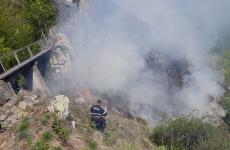 incendiu Argeș Poenari