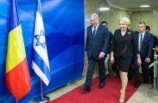 Viorica Dăncila Benjamin Netanyahu Dăncilă Netanyahu Dăncilă