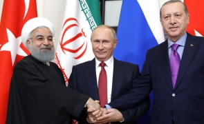 Recep Tayyip Erdogan Vladimir Putin Hassan Rohani