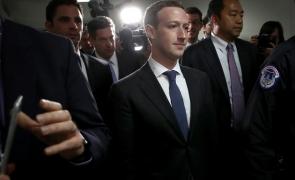 Mark Zuckerberg audiere
