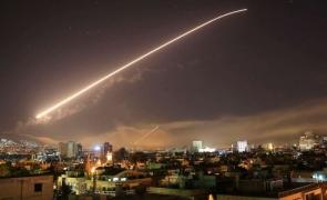 atac siria damasc racheta