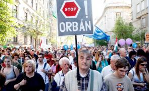 proteste Ungaria Budapesta