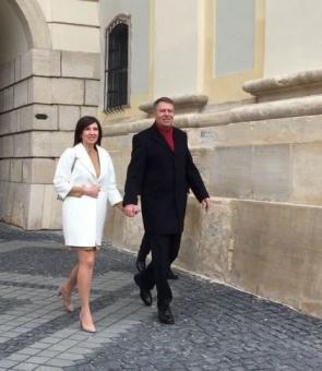 Klaus Iohannis Carmen Iohannis Paște