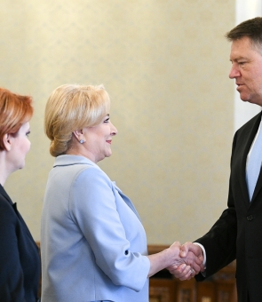 Klaus Iohannis Viorica Dancilă Iohannis