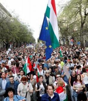 ungaria proteste