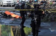 indonezia politie atac