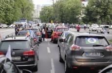 Inquam protest șoferi moldoveni