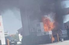 Explozie la benzinarie
