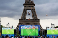 fotbal ecran gigant