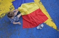 Inquam steag romania tricolor drapel