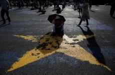 Inquam copil stea protest
