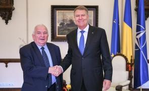 Joseph Daul Klaus Iohannis