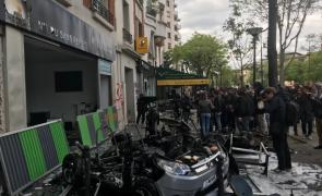paris violente