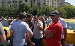 Protest taximetristi Bucuresti