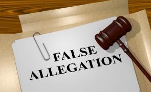 acuzatii false fals