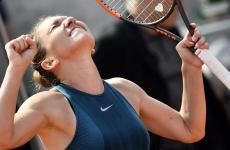 Simona Halep bucurie victorie