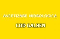 avertizare hidrologica galben cod