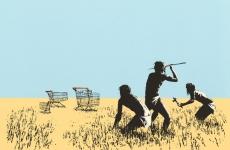 trolley hunters branksy